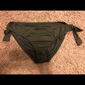 Army/Olive Green M Bikini Bottoms